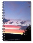 Coral Sunset Spiral Notebook