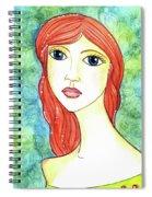 Coralia, The Mermaid Spiral Notebook