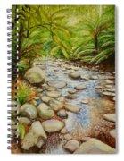 Coranderrk Creek Yarra Ranges Spiral Notebook