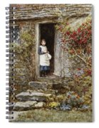 Corcorus Japonica Spiral Notebook