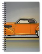 Cord 810 1937 Painting Spiral Notebook