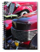 Cord C Phaeton Spiral Notebook