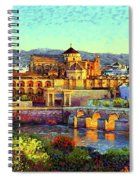 Cordoba Mosque Cathedral Mezquita Spiral Notebook