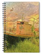 Corfu 25 High And Dry Spiral Notebook