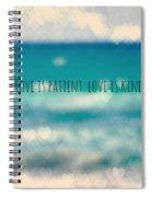 Corinthians 13 Spiral Notebook