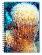 Corky Sea Finger Coral - The Muppet Of The Deep Spiral Notebook