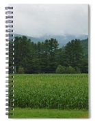 Corn Among The Mountains Spiral Notebook