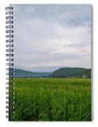 Corn Fields, Upstate New York Spiral Notebook