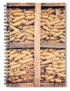 Corn For Winter Spiral Notebook
