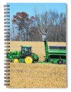 Corn Harvest Spiral Notebook