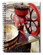 Corn Sheller Spiral Notebook