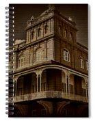 Corner Building Spiral Notebook