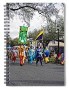 Corner Club 4 - Mardi Gras New Orleans Spiral Notebook