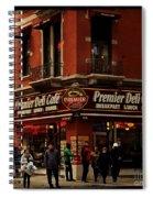 Corner Deli - New York Spiral Notebook