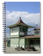 Corner Detail Of The Pavilion - Ryde Spiral Notebook