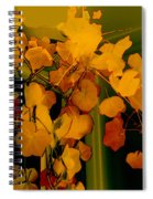 Corner In Green And Gold Spiral Notebook