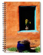 Corner In Santa Fe Nm Spiral Notebook
