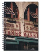 Corner Market Pikes Place Market Spiral Notebook