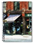 Corner Of Columbia And Pearl Albany Ny Spiral Notebook