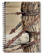 Corner Post Spiral Notebook