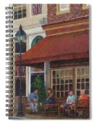 Corner Restaurant Spiral Notebook