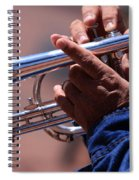 Cornet On Pearl Street Spiral Notebook