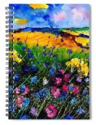 Cornflowers 680808 Spiral Notebook