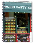 Cornish Pasty Shop Spiral Notebook