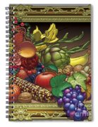 Cornucopia Overflowing Spiral Notebook