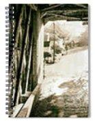 Cornwall Bridge Spiral Notebook