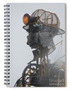 Cornwall Man Engine Spiral Notebook