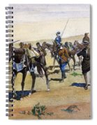 Coronados March, 1540 Spiral Notebook