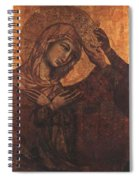 Coronation Of The Virgin 1311 Spiral Notebook