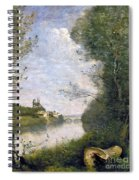 Corot: Cathedral, C1855-60 Spiral Notebook