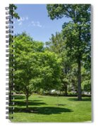 Corr Hall Green Space Spiral Notebook