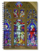 Corr Hall Stain Glass Spiral Notebook