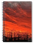 Corral Sunset Spiral Notebook