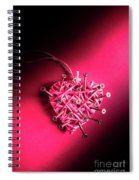 Corrosion Of Emotion Spiral Notebook