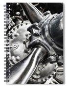 Corsair F4u Engine Spiral Notebook