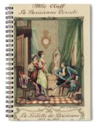 Corset Trade Card, 1912 Spiral Notebook