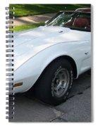Corvette 1 Spiral Notebook