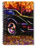 Corvette Beauty Spiral Notebook