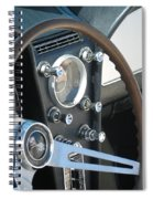Corvette Console Spiral Notebook