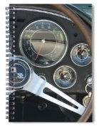 Corvette Dash Spiral Notebook