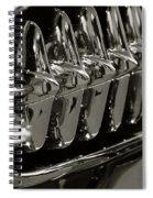 Corvette Grill Spiral Notebook