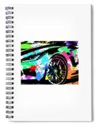 Corvette Pop Art 3 Spiral Notebook