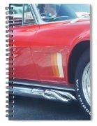 Corvette Soft Top Spiral Notebook