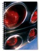 Corvette Tail Lights Spiral Notebook