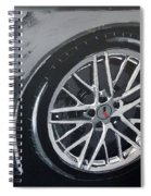 Corvette Wheel Spiral Notebook