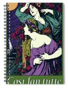 Cosi Fan Tutte Opera Spiral Notebook